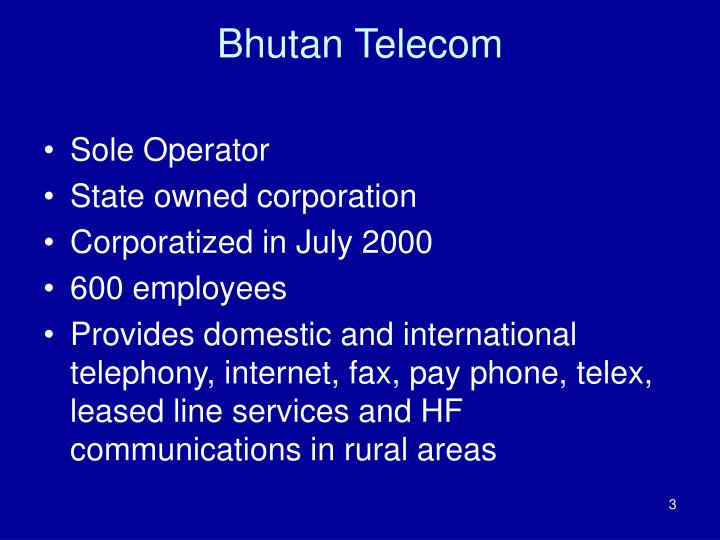 Bhutan Telecom