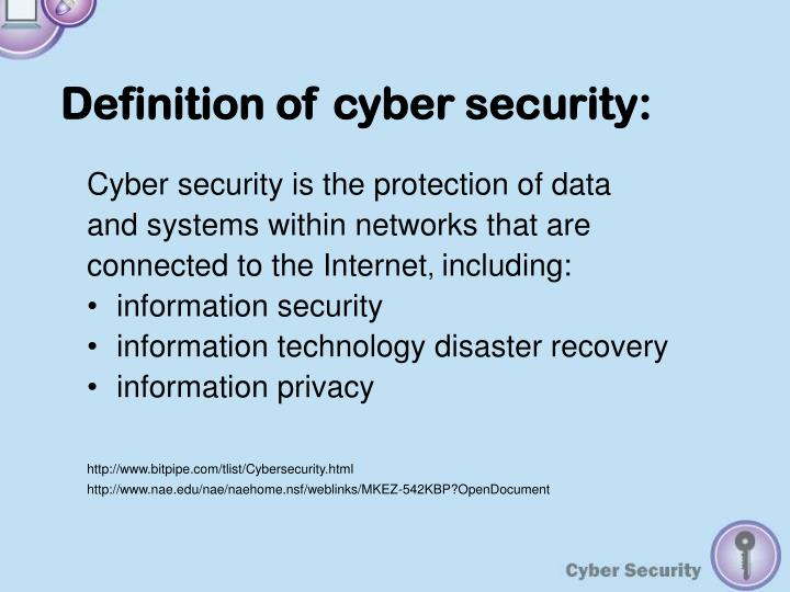 PPT - CYBER SECURITY PowerPoint Presentation