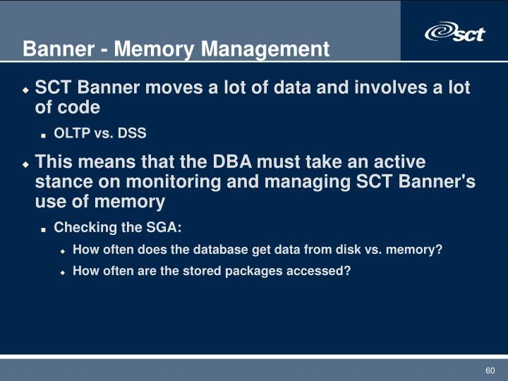 Banner - Memory Management