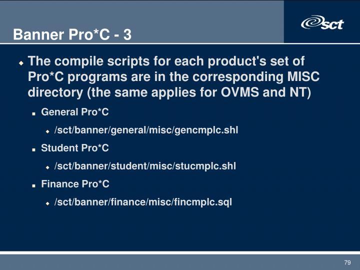 Banner Pro*C - 3