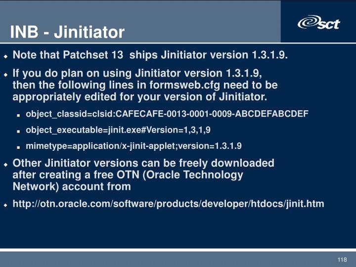 INB - Jinitiator
