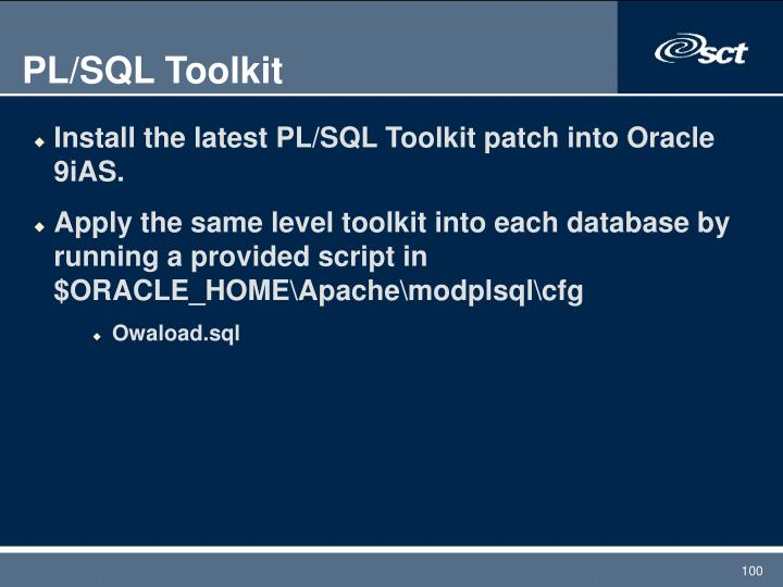 PL/SQL Toolkit