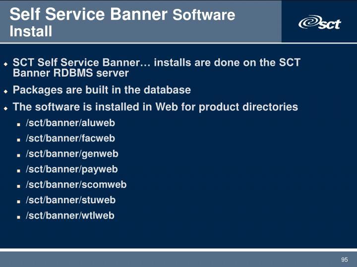 Self Service Banner