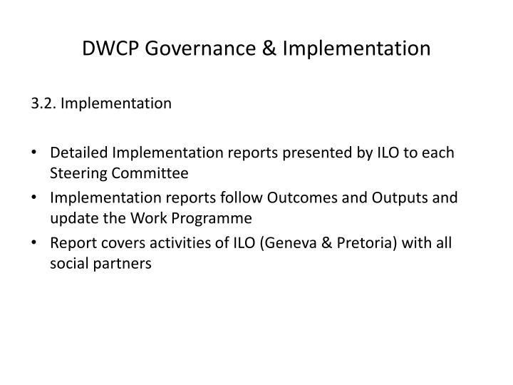 DWCP Governance & Implementation