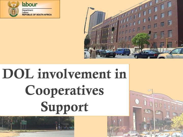 DOL involvement