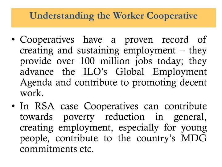 Understanding the Worker Cooperative