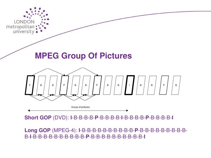 MPEG Group Of Pictures