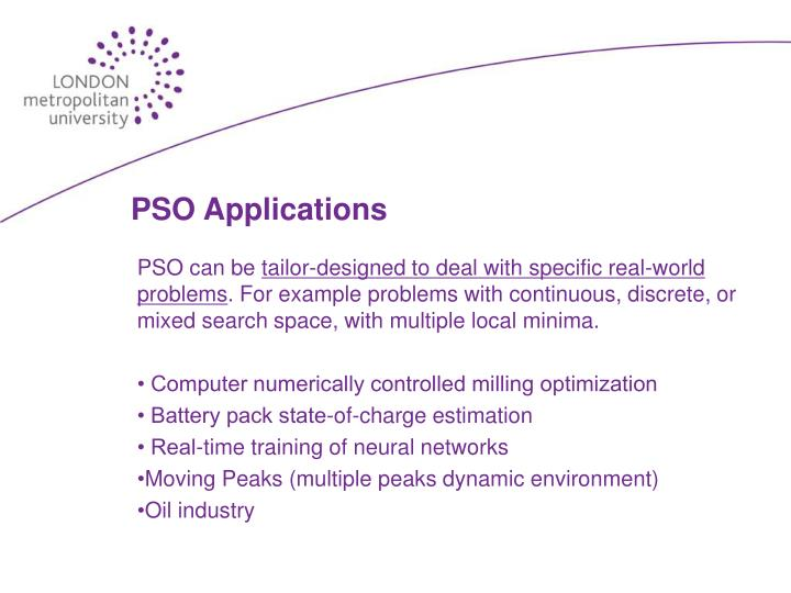 PSO Applications