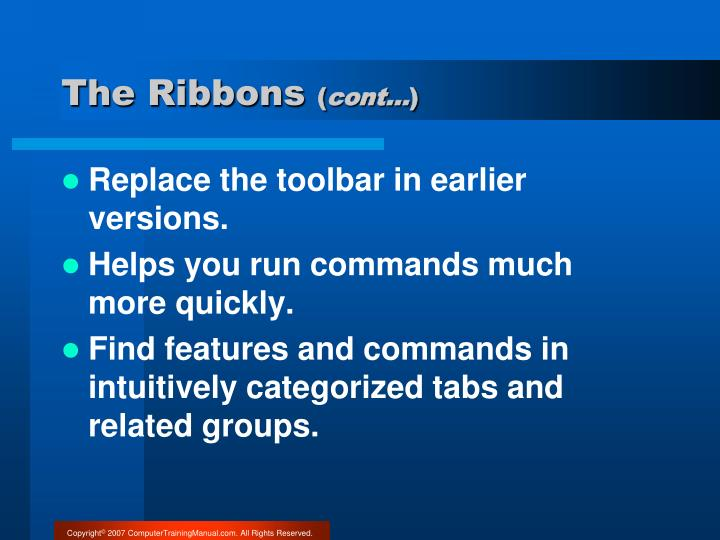 The Ribbons