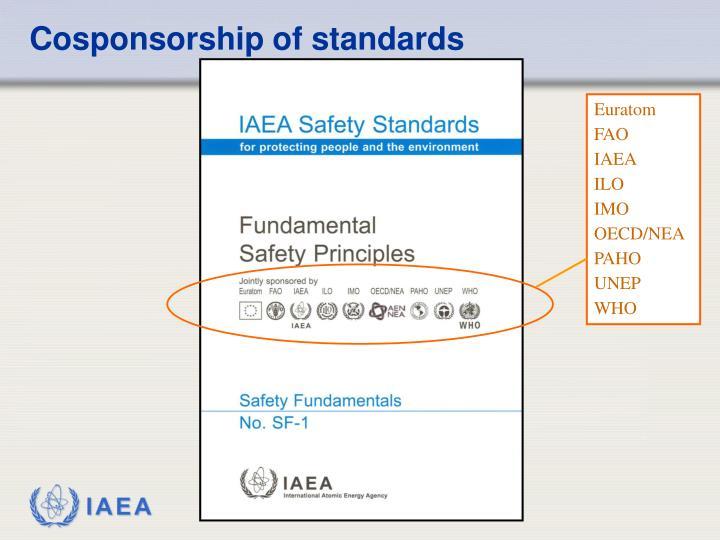 Cosponsorship of standards
