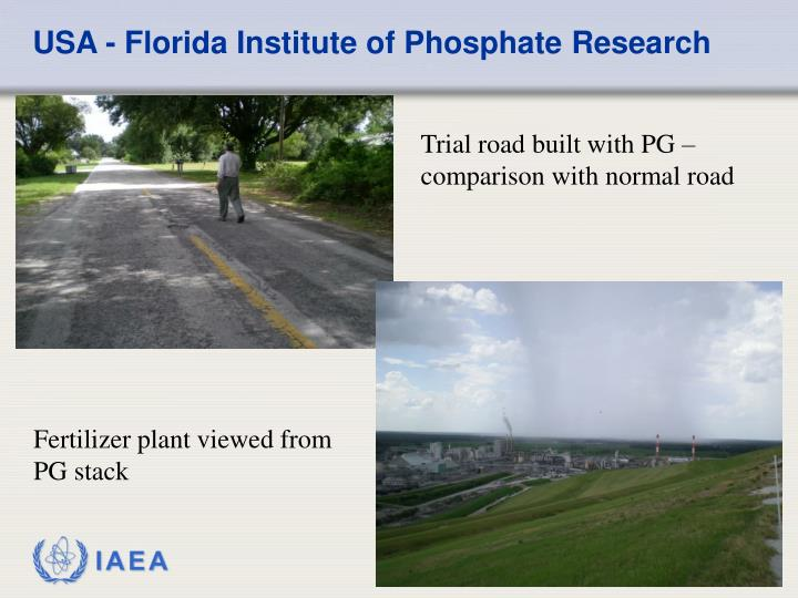 USA - Florida Institute of Phosphate Research