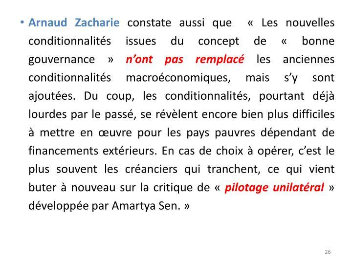 Arnaud Zacharie