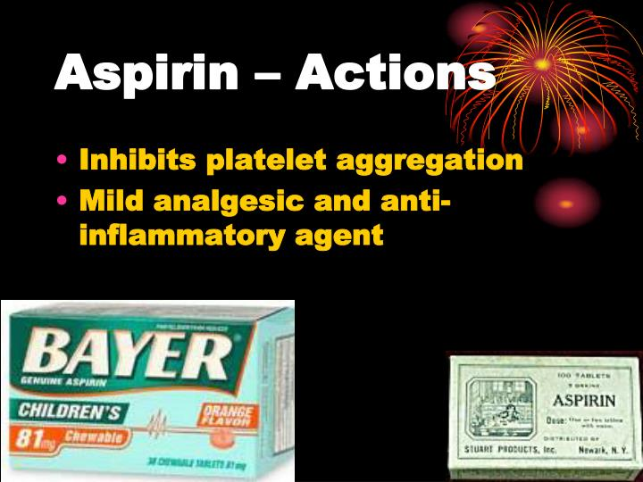Aspirin – Actions