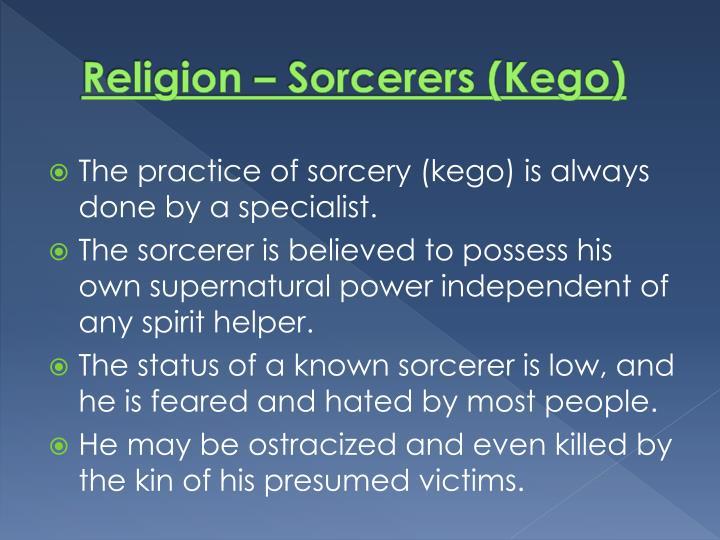 Religion – Sorcerers (