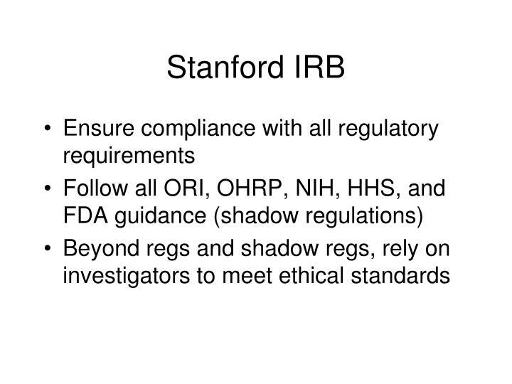 Stanford IRB