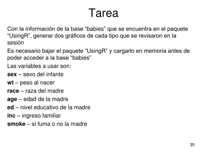 Tarea