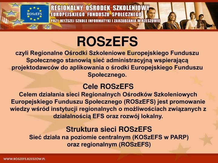 ROSzEFS