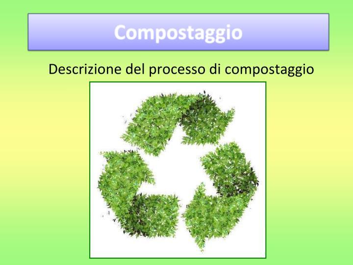 Descrizione del processo di compostaggio