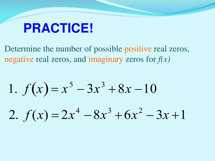 Determine the number of possible
