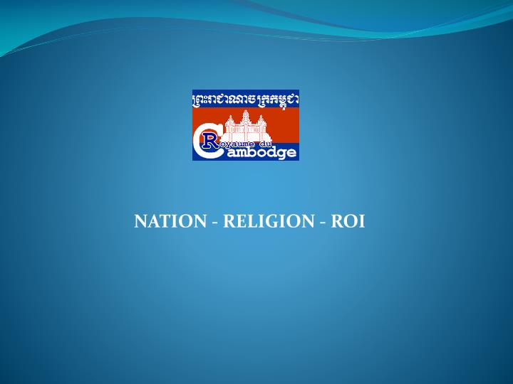 NATION - RELIGION - ROI