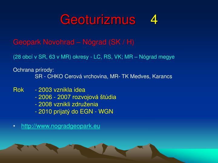 Geoturizmus