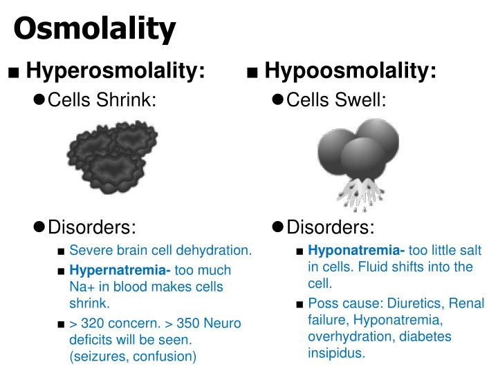 Hyperosmolality: