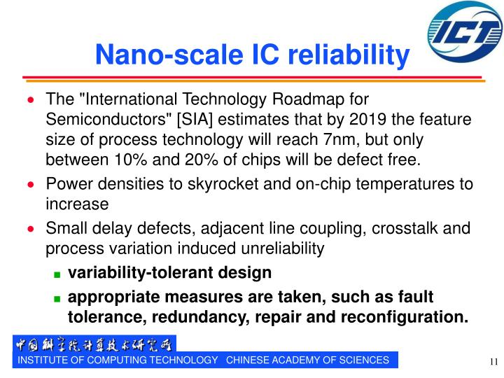 Nano-scale IC reliability