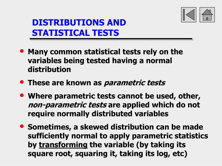 DISTRIBUTIONS AND
