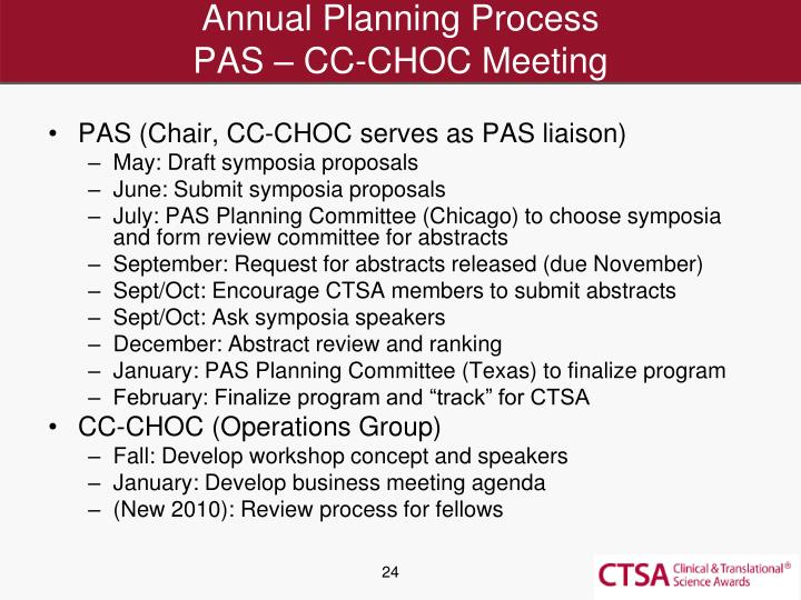 Annual Planning Process