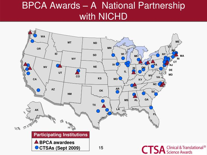 BPCA Awards – A  National Partnership
