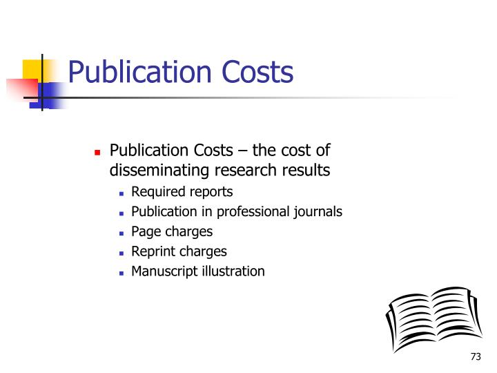 Publication Costs