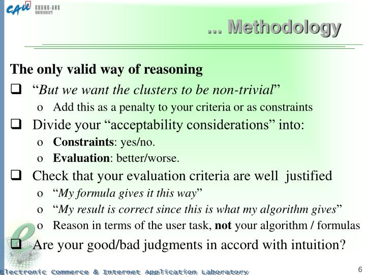 ... Methodology