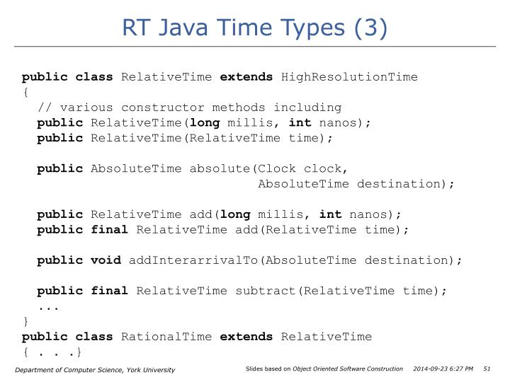 RT Java Time Types (3)