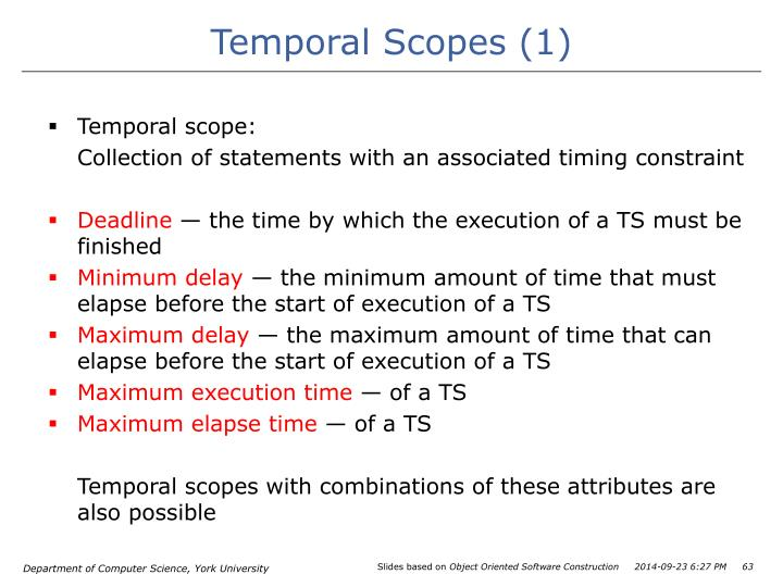 Temporal Scopes (1)