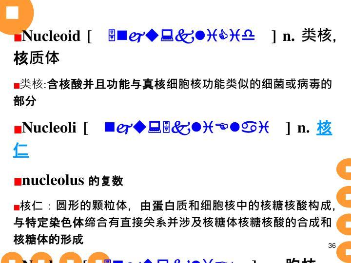Nucleoid