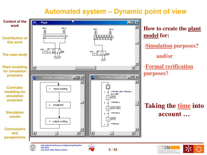 Automated system – Dynamic point of view