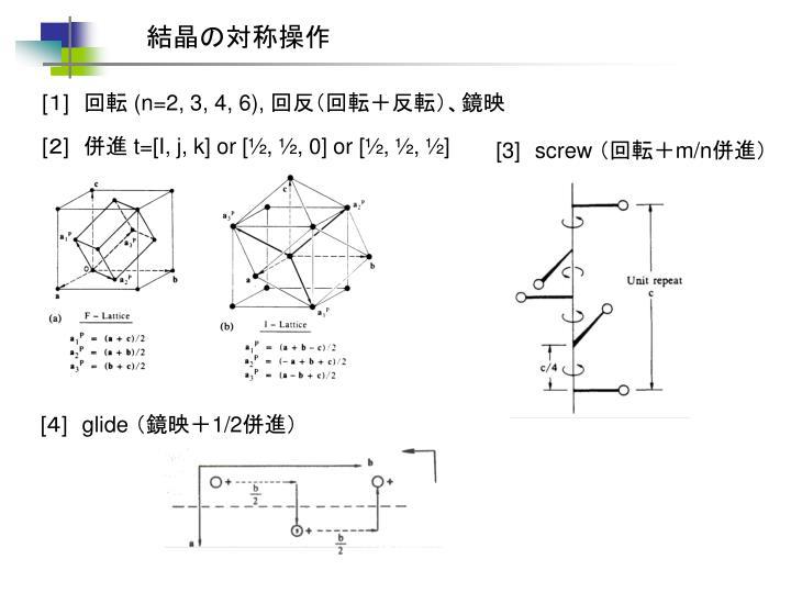 結晶の対称操作