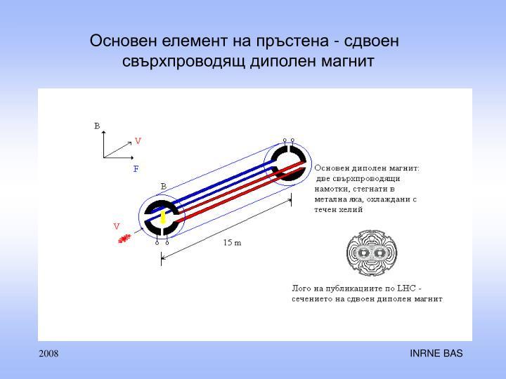 Основен елемент на пръстена - сдвоен