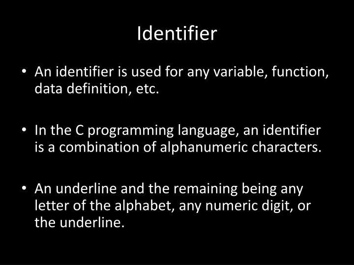 Identifier