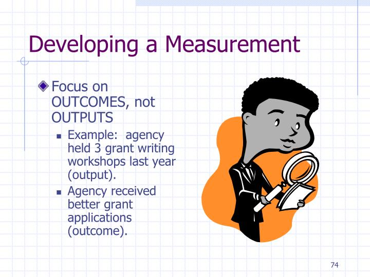 Developing a Measurement