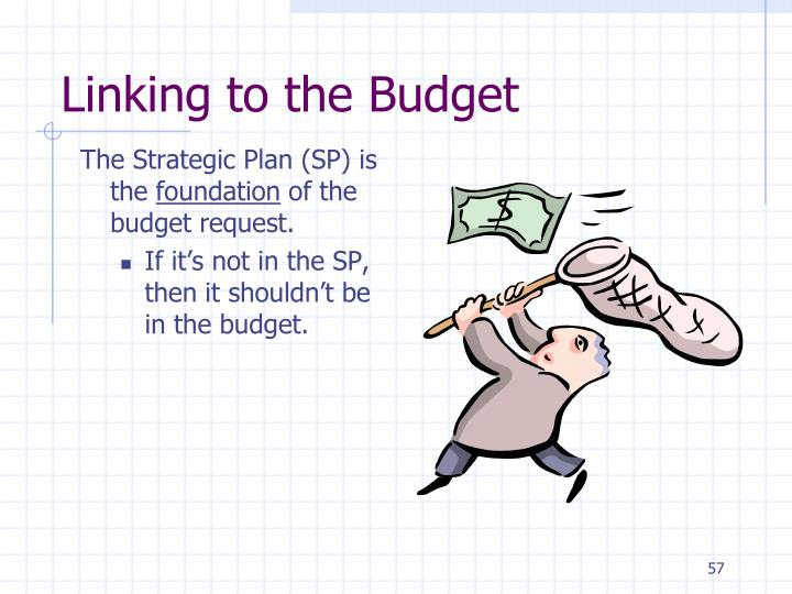Linking to the Budget