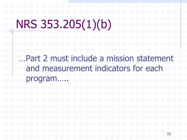 NRS 353.205(1)(b)