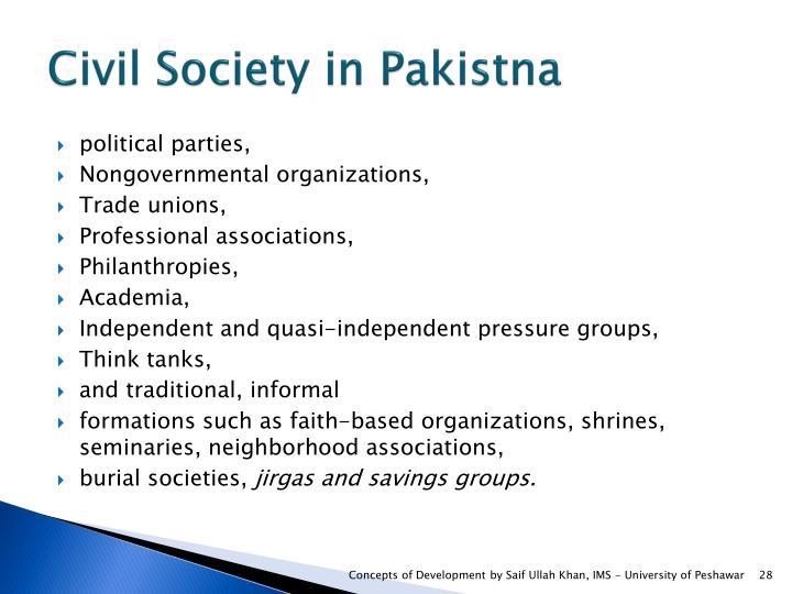 Civil Society in