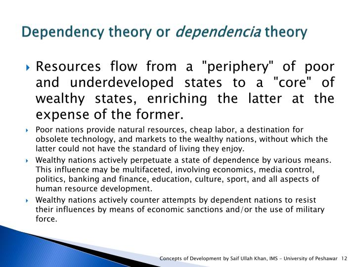 Dependency theory or