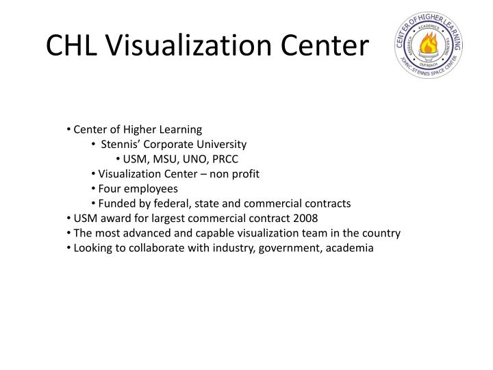 Chl visualization center