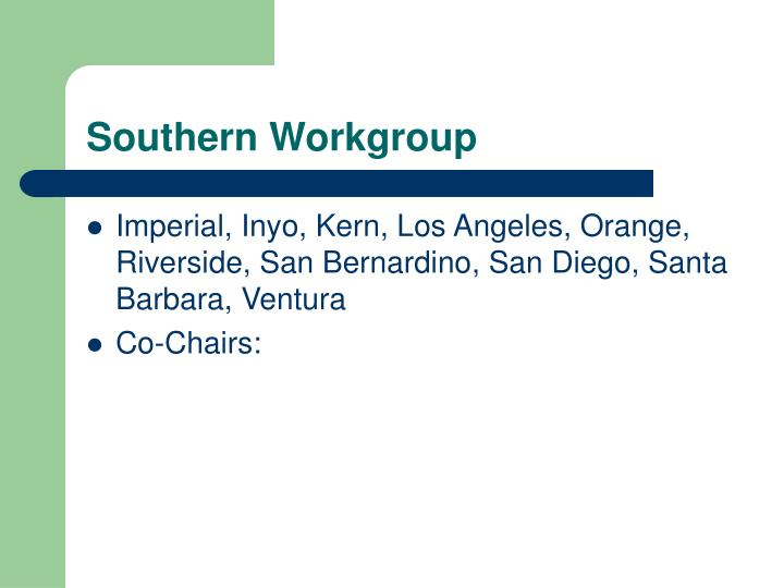 Southern Workgroup