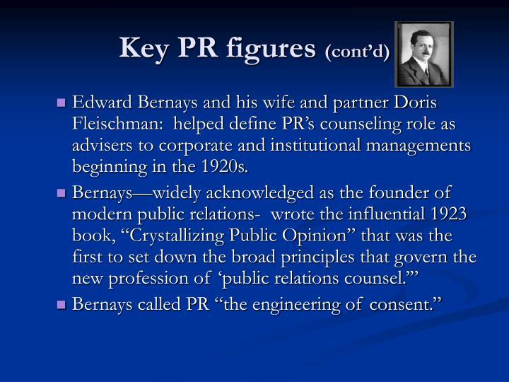 Key PR figures