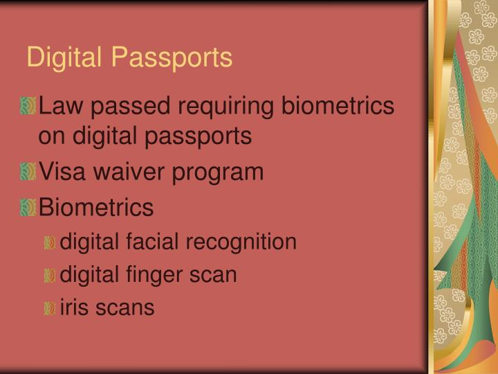 Digital Passports