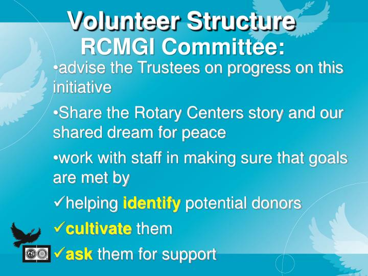 Volunteer Structure