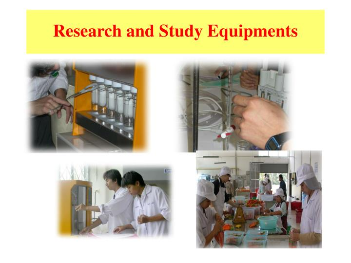 Research and Study Equipments